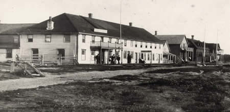 Fort Frances Business District - Front Street - Early 1900's